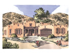 Southwestern Style Houseplans - Chatham Design Group House Plans