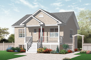 Small House Blueprints bungalow country traditional house plan 76183 Small House Designs On Small Home Plans Small Home Designs By Homeplans Com