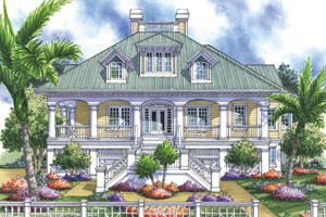Home Plans with Wrap-Around Porch