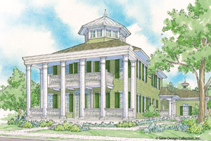 Plantation Style Home Design @ Architectural Designs
