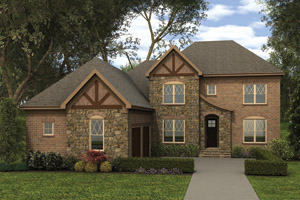 eplans.com - House Plan: Tudor Meets English Cottage