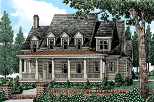 Cape Cod House Plans at eplans.com | Colonial Style Homes