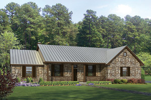 Ranch Style House Plans | Post And Beam Homes