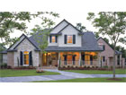 Four Bedroom Country Style House Plan HOMEPW13535 - Case Study
