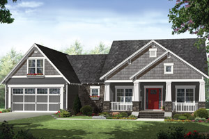 1 1/2 Story House Plans