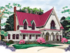 Gothic Revival Floor Plans