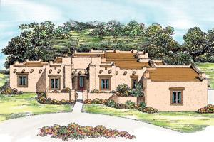 Pueblo Style House Plans Find House Plans
