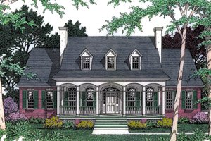 Southern House Plans - Southern Designs at Architectural Designs