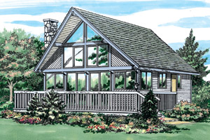 Chalet House Plans and Chalet Designs at BuilderHousePlans.com