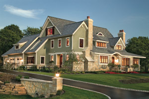 Shingle Style Gambrel House Plans