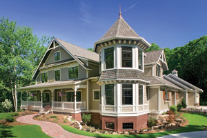 Queen Anne Floor Plans - Queen Anne Style Designs from FloorPlans.