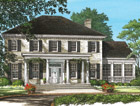 Greek Revival Floor Plans