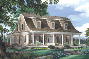 Dutch Colonial Home Plans - Dutch Colonial Style Home Designs from