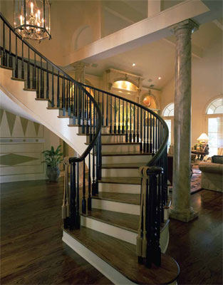 Foyer and Bottom of Staircase - HOMEPW03704
