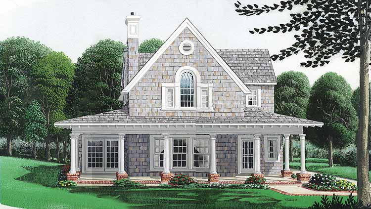 Color Rendering of Home Plan HOMEPW11633