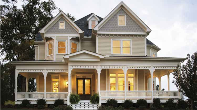 Four Bedroom Victorian Home Plan - HOMEPW11706