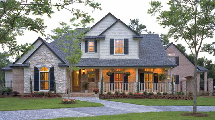 Four Bedroom Country Style House Plan - HOMEPW13535