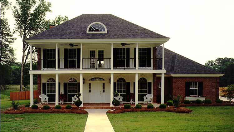 Four Bedroom Country Home Plan - HOMEPW27029